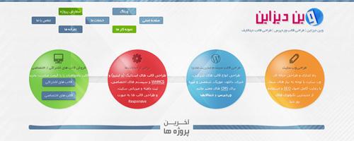 طراحی قالب وین دیزاین – نسخه 3