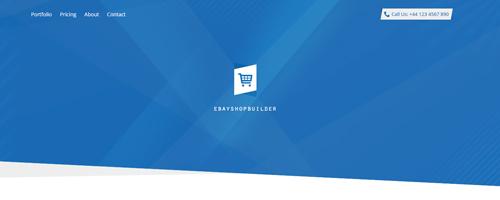 طراحی قالب eBay Shop Builder