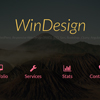 پیش نمایش قالب WinDesign English v1 – AngularJS