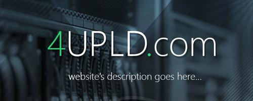 طراحی قالب فروش قالب 4UPLD برای آپلود سنتر